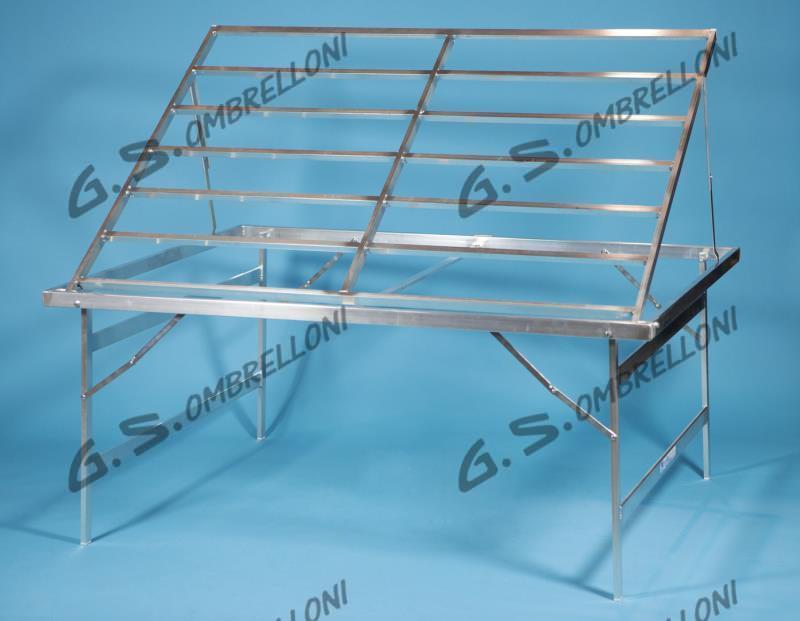 Ombrelloni Per Ambulanti Cisa.Tavoli Mercato Alluminio Tavoli Pieghevoli In Alluminio Per Fiere